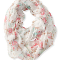 Aeropostale  Rose Infinity Scarf
