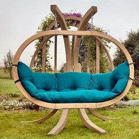 Unique Wooden Garden Swing Design - Unique And Unusual Wooden Garden Swing Design Outdoor Furniture ? AzMyArch