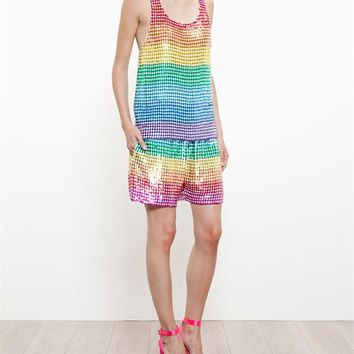 Sequinned Tank Top - ASHISH