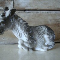 Vintage  Donkey or Burro  Replacement or Your Private Collection Molded Plastic