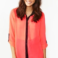 Blinded Chiffon Blouse