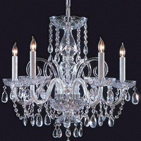 Swarovski Spectra Crystal Chandelier - Chandeliers -  Lighting | HomeDecorators.com