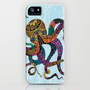 Electric Octopus iPhone Case by Tammy Wetzel | Society6