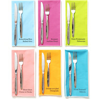 Paint Chip Large Dinner Napkins
