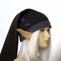Legend of Zelda - DARK Link cosplay cap ( black/grey ) - hats by orgXIIIorg