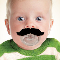 Mustachifier Baby Pacifier
