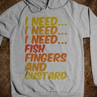 Fish Fingers and Custard - Half Poison Designs