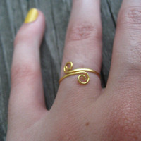 Greek Goddess Ring