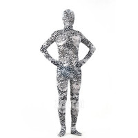 Halloween Full Body Fancy Dress Lycra Spandex Zentai Suits Gray Cosplay Costumes [L20120820] - 24.58 : Zentai, Sexy Lingerie, Zentai Suit, Chemise