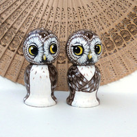 Cake Topper Owls Fly Me To the Moon by SavageArtworks on Etsy