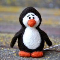 DIY - Penguin Needle Felting Kit - pattern