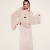 APOTHECARY- STAR CROSSED SWEATER at Wildfox Couture in  ROSWA, CWHTE