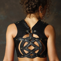 Sefirah Fierce Designs — Leather Oz Top