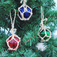 Glass Float Ornaments | OceanStyles.com