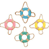 Beach Life Ring Ornaments | OceanStyles.com