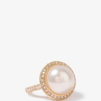 Sparkling Pearlescent Ring | FOREVER21 - 1025682613