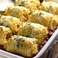 Chicken and Cheese Lasagna Roll-Ups - iVillage
