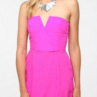 Naven Bombshell Strapless Silk Dress