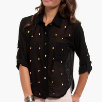 Studded Conscience Shirt $30