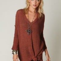 Free People Genteel V-Neck Tunic at Free People Clothing Boutique