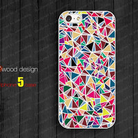 iphone 5 cases NEW iphone 5 case iphone 5 cover classic colorized pink blue pattern design atwoodting design