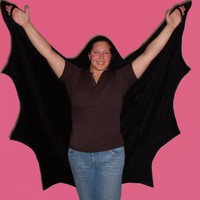 I Vwant to Take a Bath Ah Ah Ah Hooded Bat Towel For by BibBon