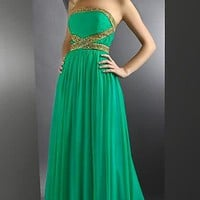 Glamorous Lime Green Dress By Shimmer 59928