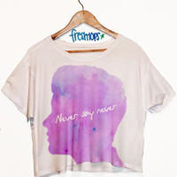 Never Say Never Crop Top | fresh-tops.com