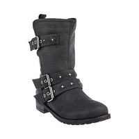 Steve Madden - ASTORRIA BLACK LEATHER
