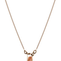 Hayden Stone Necklace - Gold - One Size / Gold