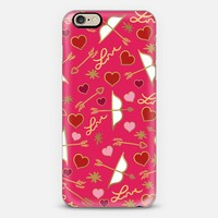 Cupid Love (Berry Pink) iPhone 6 case by Lisa Argyropoulos | Casetify