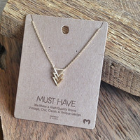 "Open Triangle ""Must Have"" Necklace"