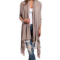 Charissa Draped Cardigan $33
