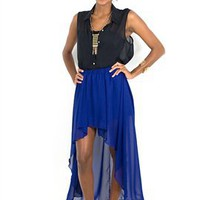 West Coast Wardrobe Deep Blue Sea Skirt