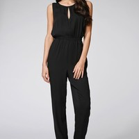 MinkPink End Of Days Pantsuit - Womens Dress - Black