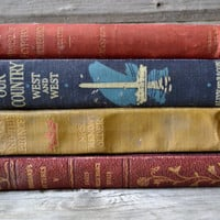 Four Vintage Books Dating Late 1800's to mid 1900's