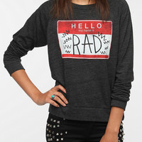 Corner Shop My Name is Rad Long-Sleeved Tee