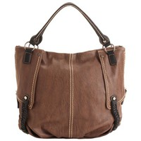 Shiraleah Monroe Chestnut Vegan Tote