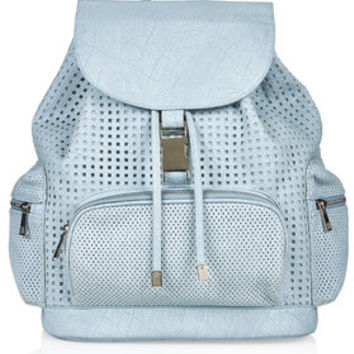 Perforated Backpack - Blue