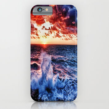 Sunset Waters HDR iPhone & iPod Case by 2sweet4words Designs