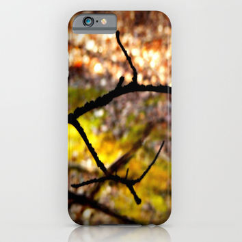 Peeking Through the Bushes iPhone & iPod Case by 2sweet4words Designs