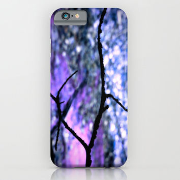 Peeking Through Purple Nature iPhone & iPod Case by 2sweet4words Designs