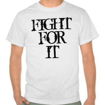 Motivational Fitness Quote: Fight For It