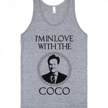 Love With Team Coco-Unisex Athletic Grey Tank
