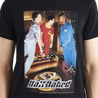 Junk Food Half Baked Floating Tee- Black