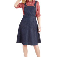 Bea & Dot Nautical Long A-line Jumper at the Chance