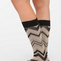 Hansel From Basel Chevron Knee-High Sock