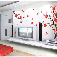 Cherry Blossom-Vinyl wall Decal,wall sticker, Sticker,decor, Art