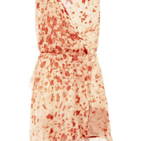 Reed Krakoff Appaloosa printed silk crepe de chine dress – 70% at THE OUTNET.COM