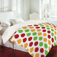 DENY Designs Home Accessories | Marceline Smith Cutie Fruity Duvet Cover
